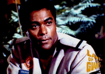 Don Marshall as Dan Erickson in Land of the Giants